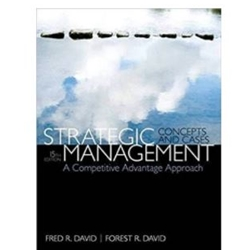 BBA 4951: Strategic Management: A Competitive Advantage Approach