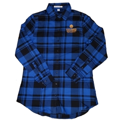 Lady's Blue Flannel