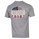 CSU Support Military Tee Circle